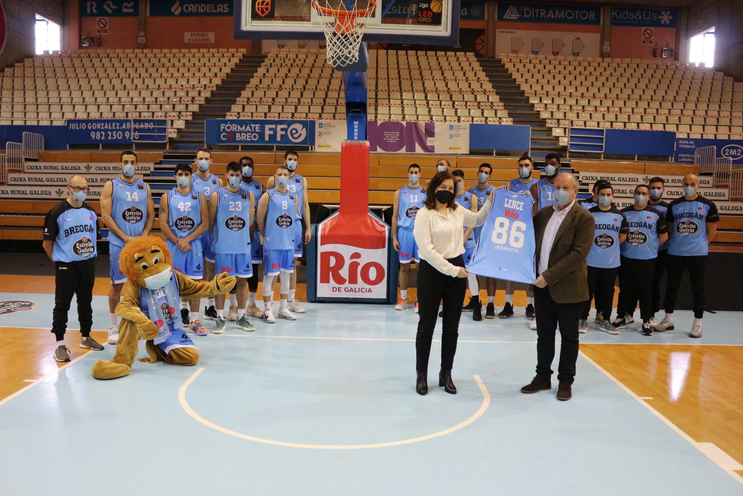 Presentación equipo Río Breogán 2020/2021