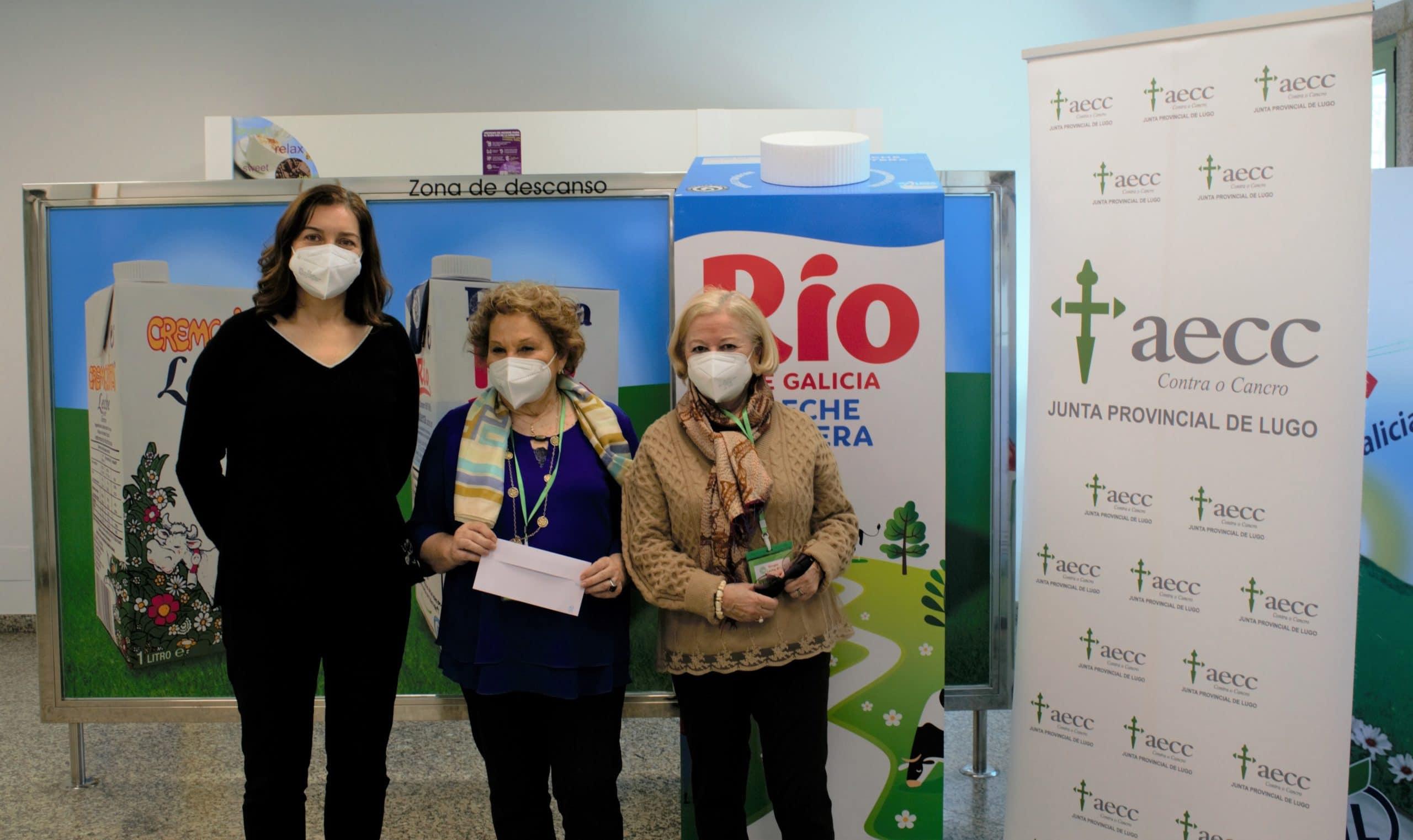 Grupo Lence y Río de Galicia colaboran con la Asociación Española contra el Cáncer por cuarto año consecutivo