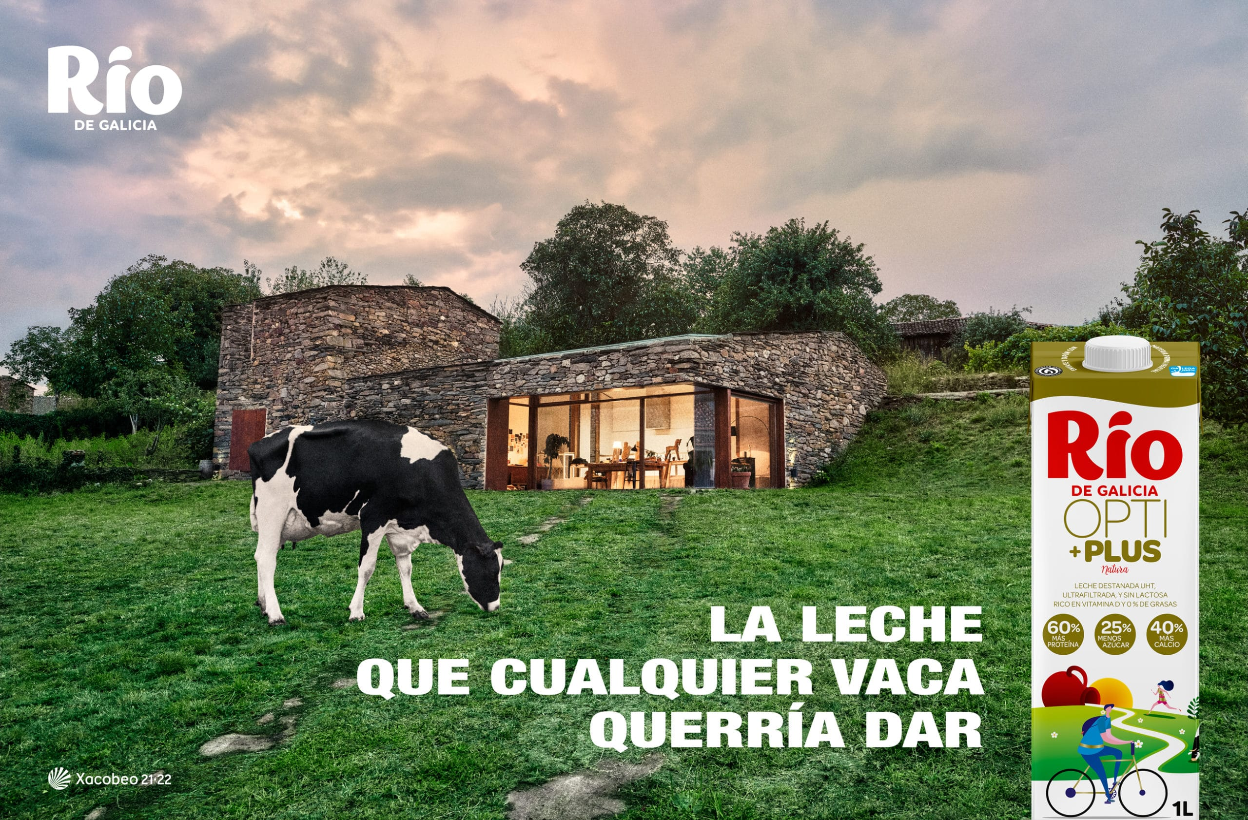 La leche que cualquier vaca querría dar Río de Galicia Opti+Plus